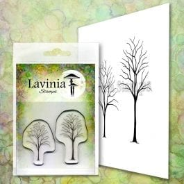 Lavinia Clear Polymer Stamp Small Trees