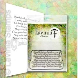 Lavinia Clear Polymer Stamp Magic Surrounds Us