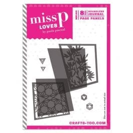 Crafts Too Miss P Loves Boundless Journal Die Set Page Panels