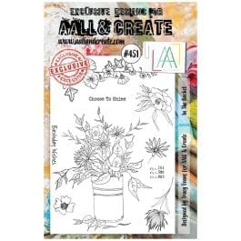 AALL & Create Clear Stamp A5 In The Bucket