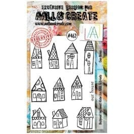 AALL & Create Clear Stamp A6 Our House