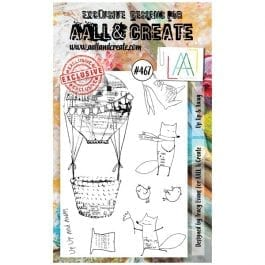 AALL & Create Clear Stamp A6 Up Up & Away