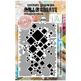 AALL & Create Clear Stamp A7 Reverse Diamonds