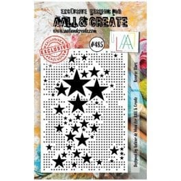 AALL & Create Clear Stamp Reverse Stars
