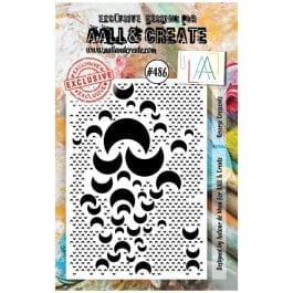 AALL & Create Clear Stamp Reverse Crescents