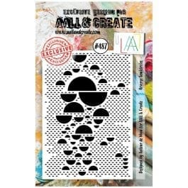 AALL & Create Clear Stamp Reverse Semicircles