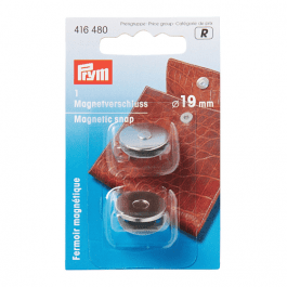 Prym Magnetic Snap 19mm Silver
