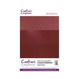 Crafter's Companion A4 Luxury Cardstock Red Pk 30