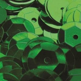 Jomil Cupped Sequins 8mm Green Pk 300