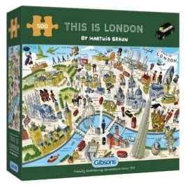 Gibsons Jigsaw This is London 500 Piece Puzzle