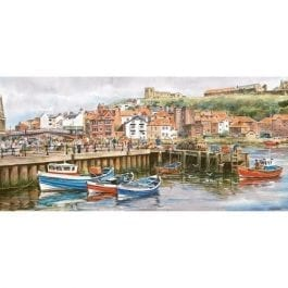 Gibsons Jigsaw Whitby Harbour 636 Piece Puzzle