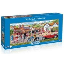 Gibsons Jigsaw Railroad Crossing 636 Piece Puzzle