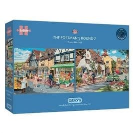 Gibsons Jigsaw The Postmans Round 2 x 500 Piece Puzzle
