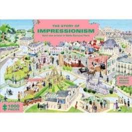 The Story of Impressionism Art 1000 Piece Puzzle