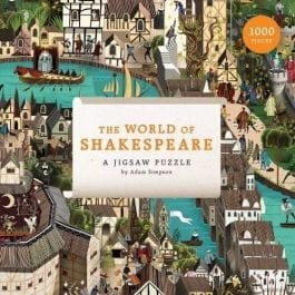 The World of Shakespeare Art 1000 Piece Puzzle