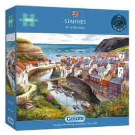 Gibsons Jigsaw Staithes 1000 Piece Puzzle