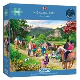 Gibsons Jigsaw Highland Hike 1000 Piece Puzzle