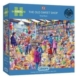 Gibsons Jigsaw The Old Sweet Shop 500XL Piece Puzzle