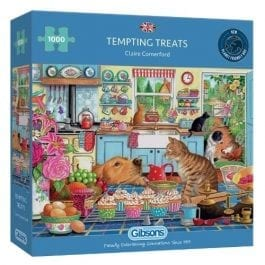 Gibsons Jigsaw Tempting Treats 1000 Piece Puzzle