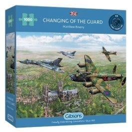 Gibsons Jigsaw Changing of the Guard 1000 Piece Puzzle