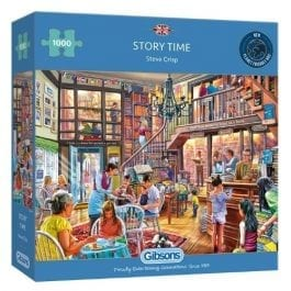 Gibsons Jigsaw Story Time 1000 Piece Puzzle