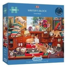 Gibsons Jigsaw Writers Block 1000 Piece Puzzle
