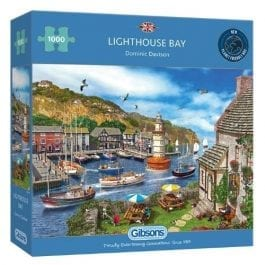 Gibsons Jigsaw Lighthouse Bay 1000 Piece Puzzle