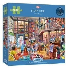 Gibsons Jigsaw Story Time 500XL Piece Puzzle