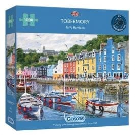 Gibsons Jigsaw Tobermory 1000 Piece Puzzle