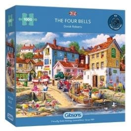 Gibsons Jigsaw The Four Bells 1000 Piece Puzzle