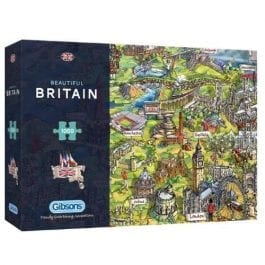 Gibsons Jigsaw Beautiful Britain 1000 Piece Puzzle