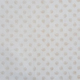 Nutex Printed Cotton Tone on Tones 44″/112cm Col 108 Natural