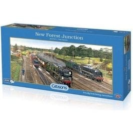 Gibsons Jigsaw New Forest Junction 636 Piece Puzzle