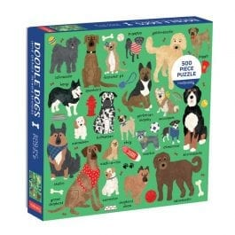 Doodle Dog And Other Mixed Breeds 500 Piece Puzzle
