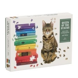 Queen of the Stacks 2-in-1 Puzzle Set