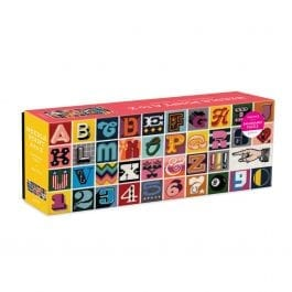Needlepoint A – Z 1000 Piece Panoramic Puzzle