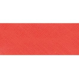 Sew Cool Poly Cotton Bias Binding Folded 25mm Coral