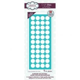 Creative Expressions Sue Wilson Dies Slimline Collection Large Circles Background