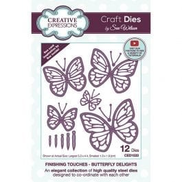 Creative Expressions Sue Wilson Dies Finishing Touches Butterfly Delights