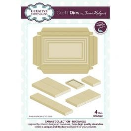 Creative Expressions Jamie Rodgers Dies Canvas Collection Rectangle