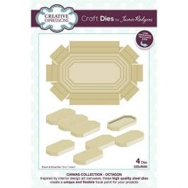 Creative Expressions Jamie Rodgers Dies Canvas Collection Octagon