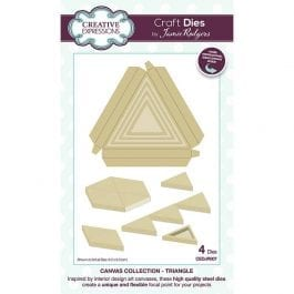Creative Expressions Jamie Rodgers Dies Canvas Collection Triangle