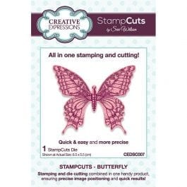 Creative Expressions Sue Wilson Dies StampCuts Butterfly
