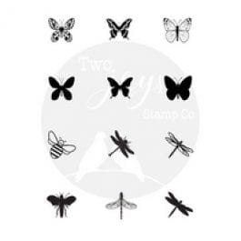 Two Jays Stamp Co. Finger Stamps Butterflies & Bugs