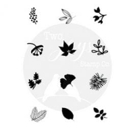 Two Jays Stamp Co. Finger Stamps Foliage