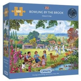 Gibsons Jigsaw Bowling by the Brook 500 Piece Puzzle
