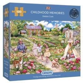 Gibsons Jigsaw Childhood Memories 500 Piece Puzzle