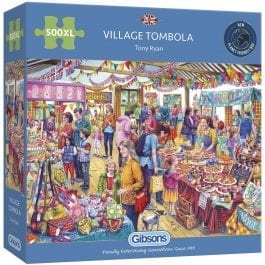 GIbsons Jigsaw Village Tombola 500XL Piece Puzzle