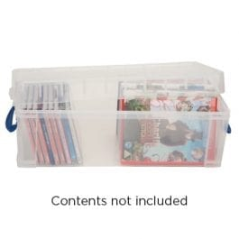 Really Useful Box 6.5 Litre Clear 430 x 180 x 160 mm