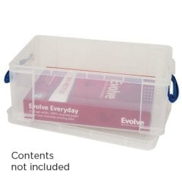 Really Useful Box 9 Litre Clear 395 x 255 x 155 mm